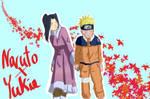 Yukie x Naruto by RedRoseQueen