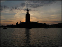 Sunset in Stockholm by Watever44