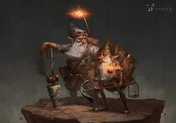 Woolfe - Dwarves by boc0