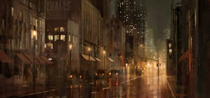 Jagsters - Rainy Street by boc0