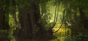 Jungle Sketch by boc0