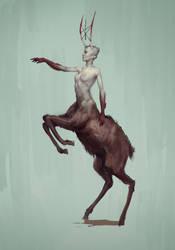 Centaur Sketch by boc0