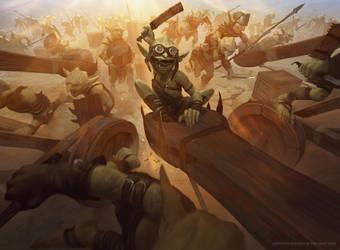 Goblin Barrage by boc0