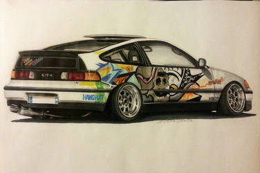 Honda CRX by Mauxdesign
