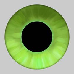 YL- JungleBush eye texture by artinkers