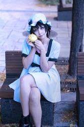Mayuri Steins Gate cosplay by kawaiilullaby
