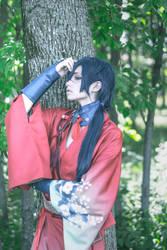 Koujaku DMMD cosplay by kawaiilullaby