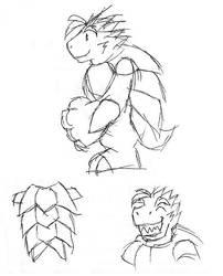 ITS-styled Byran doodle by MalamiteLtd