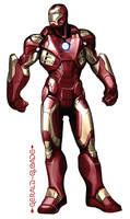 IronManNoEars by gloade