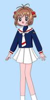 Sakura Kinomoto by maskeraderosen