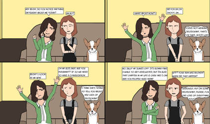Becky And Mr. Biscuit #43 (Notice Anything?) by BeckyAndMrBiscuit