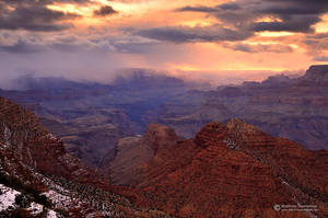 Stormy Sunset by matthieu-parmentier