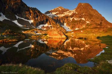 Alpine Awakening by matthieu-parmentier
