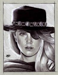 Marshall Jones - Charlize Theron by JuanGaleote