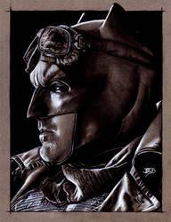 Knightmare Batman by JuanGaleote
