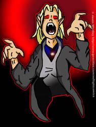 Vampire Hunter Sara. Color by Vampky