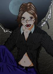 Vampire Woman for Crmsn Prwlr by Vampky