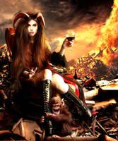Angelina God of Chaos by BonnySaintANdrew