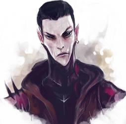Dark Eldar: Kharbyr by Beckjann