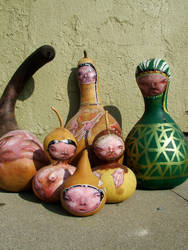 Native Gourd people by enept