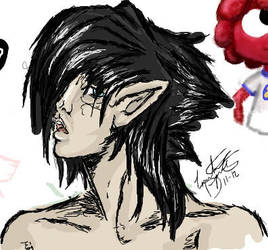 Daemon iscribble doodle by Looming--sHaDoW