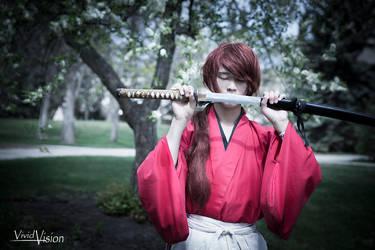 Kenshin's Determination by vi-ki