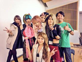Animethon 20 - Japanaese Guests by vi-ki