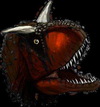 Carnotaurus by MrCoolJoeCool
