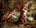 Drake and Nissa by brandrificus