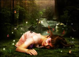 Butterfly Princess by brandrificus