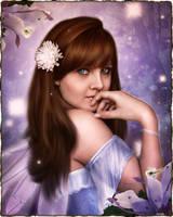Forest Fairy Portrait by brandrificus