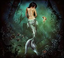 Mermaid 'Miss Understood' by brandrificus