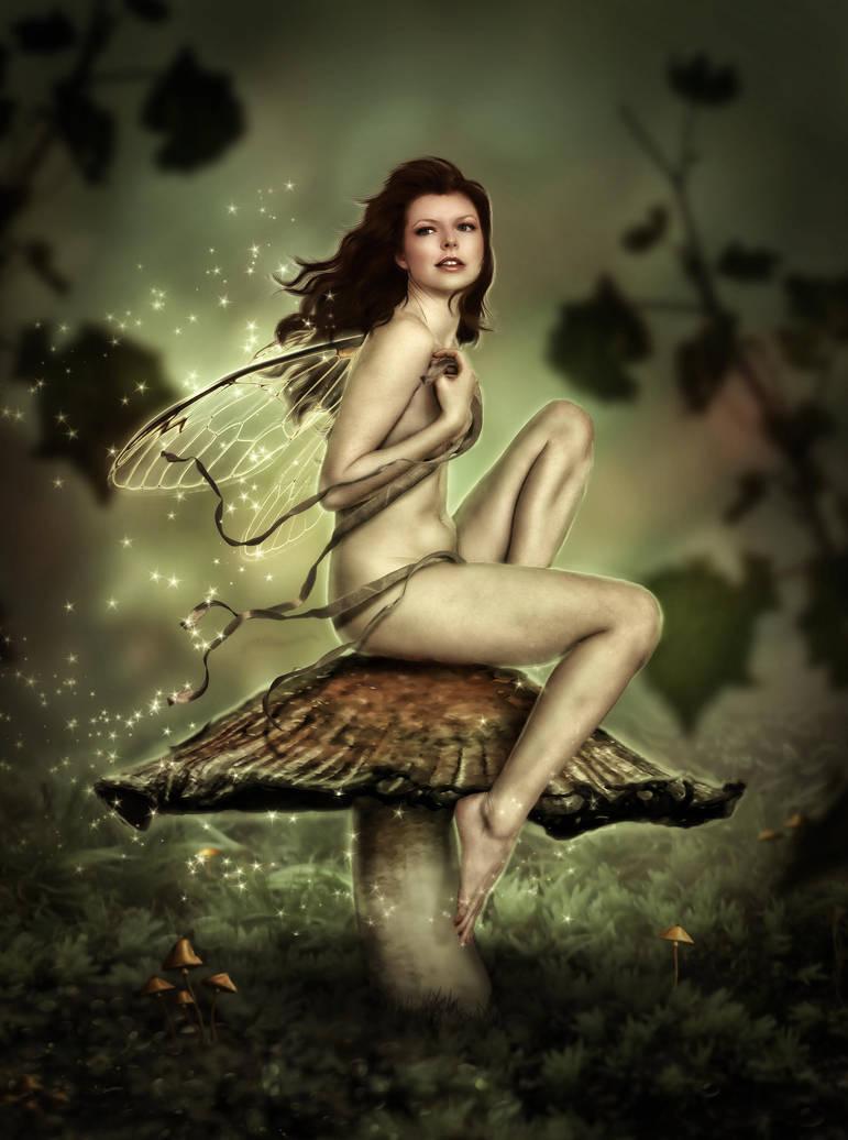 Mushroom Fairy 2 by brandrificus