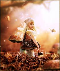 Sweet Autumn Fairy by brandrificus