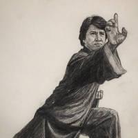 Jackie Chan - The  drunken master by Berndfuerlinger