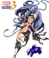 FanArt_Felicia_Marvel_VS_Capcom_3 by DannyART-Z