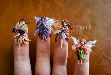 Tiny fairies by AngeniaC
