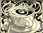 coffee art by rudat