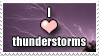 I heart thunderstorms by Janlover