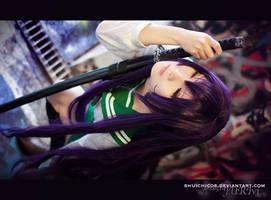 high school of the dead Saeko4 by shuichimeryl