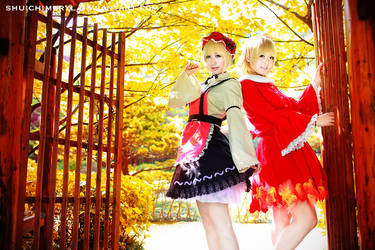 Touhou project Aki sister 01 by shuichimeryl