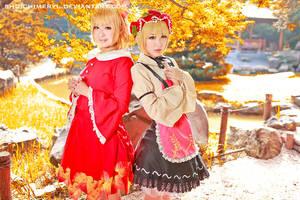 Touhou project Aki sister 03 by shuichimeryl
