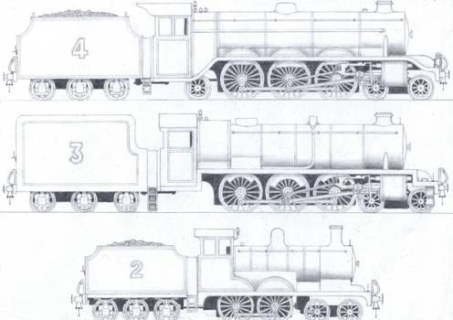 TTTE #1: The Three Railway Engines by Blue-J-Art