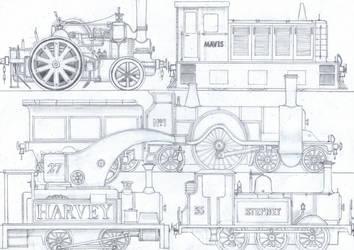TTTE #7: Miscellaneous Engines - 1 by Blue-J-Art