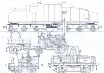 TTTE #18: The Unique Engines by Blue-J-Art