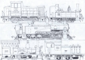 TTTE #21: The Great Railway Show Engines - 1 by Blue-J-Art
