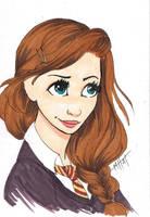 Hermione by Lamorien