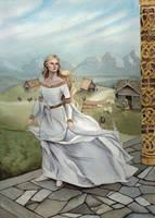 Shieldmaiden by Lamorien