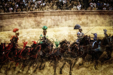 Chariot Race by hankep