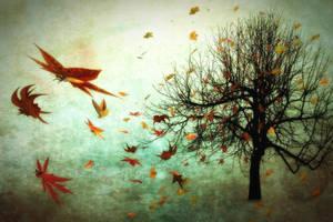 Autumn Butterflies by hankep